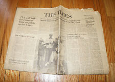 July 6 1971 THE TIMES Newspaper JACK NICKLAUS BBC Workers ORIGINAL News Paper