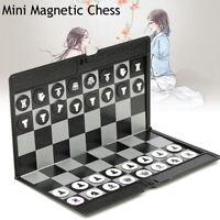 Juego de ajedrez magnético plegable MINI Juegos de mesa de ajedrez de bolsillo c