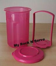 Tupperware Mini Round Pick-A-Deli 2 cups Pink New