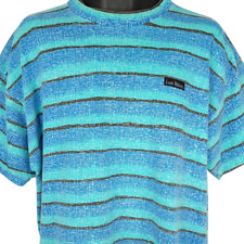 New listing Local Motion Surfer T Shirt Vintage 90s Vaporwave Striped Made In USA Size XL