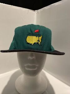 1995 Masters Golf Fitted Hat Tigers 1st major played Sz  7 1/2 100% wool See Pic