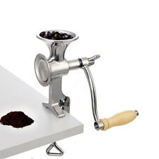 Manual Stainless Steel  Coffee Grinder Spice/Rice/Bean Grinder