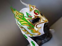 DRAGON LEE WRESTLING MASK LUCHADOR COSTUME WRESTLER LUCHA LIBRE MEXICAN MASKE