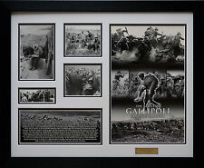 The Battle of Gallipoli Sands of Gallipoli Limited Edition Framed Memorabilia w