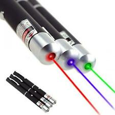 3pcs 5mW 532NM Powerful Laser Pointer Pen Combo Green + Blue /  Violet + Red
