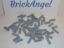 NEW LEGO Light Bluish Gray 1X3 Plates Lot of 50 Pieces 3623