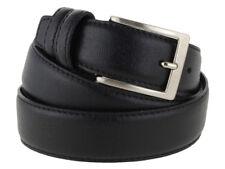 Cintura uomo pelle classica nero modello Prada 115cm (taglia pantalone 48/50 EU)