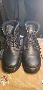 Mens Skechers 77143 TARLAC Steel Toe Puncture Slip Resistant Work Boots Shoe 13M