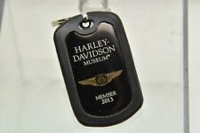 HARLEY DAVIDSON MUSEUM MEMBER KIT 2013 DOG TAG - 110 Jahre HARLEY DAVIDSON