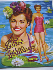 Esther Williams Vintage Reproduction Movie Star Paper Dolls-Special Price!
