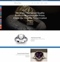 EXPENSIVE JEWELRY Website Earn £461 A SALE|FREE Domain|FREE Hosting|FREE Traffic