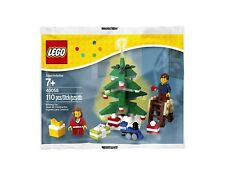 LEGO CHRISTMAS 40058 DECORATING THE TREE SET - RETIRED - BRAND NEW AND SEALED