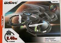 UDI U818A 2.4GHz 4 CH 6 Axis Gyro RC Quadcopter Drone with Camera RTF Mode 2