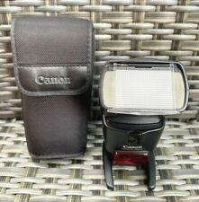Canon Speedlite 430EX II Shoe Mount Flash Gun with Stand & Case, Digital Camera