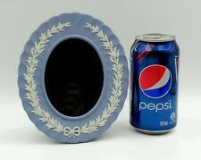 WEDGWOOD Jasperware / Jasper *PALE BLUE* - Photo / Picture Frame 17cm H - Exc