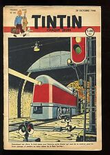 Journal de TINTIN belge  1948   n°44    Couverture de Edgar P. JACOBS