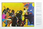 Romare Bearden Out Chorus African American Musicians Poster 24 x 36