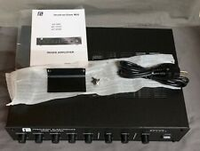 NIB Grommes~Precision GT60C, 7 input-channel mixer amplifier, 60-Watt
