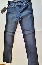 Womens Rock & Republic Brand Skinny Dark Blue Denim Berlin Size 8M