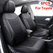 Pu Leather Front Car Seat Cover Auto Accessories Fit for Toyota CHR RAV4 4runner
