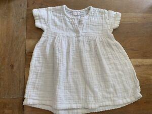 Jamie Kay Coconut White Dress Tshirt Size 3 Years