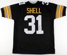 d9ff23808 Donnie Shell Signed Steelers Jersey (TSE) 4× Super Bowl champion (IX