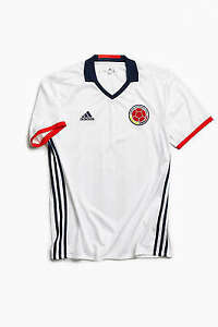 Adidas International Colombia Jersey White T-Shirt FCF National Team Jersey NEW