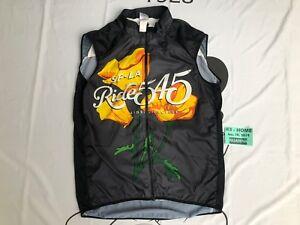 San Francisco Los Angeles AIDS Foundation LGBT LA SF Cycling Vest XXL Ride 545❄️