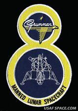 "GRUMMAN LM - 8 - APOLLO 14 - LUNAR MODULE - ANTARES 6 1/4"" AB EMBLEM SPACE PATCH"