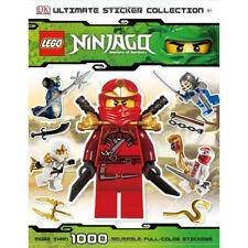 DK Lego Ninjago Ultimate Sticker Collection Book New