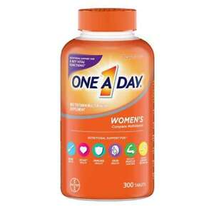 ONE A DAY WOMEN'S MULTIVITAMIN MULTIMINERAL SUPPLEMENT 300 TABLETS EXP 06/22