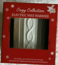 Cozy Collection White Ceramic Electric Wax Warmer, NIB