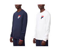 NEW Fila Men's French Terry Crew Neck Sweatshirt - VARIETY Color & Sizes