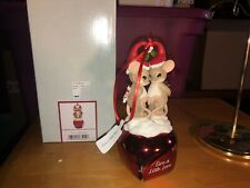 """Charmi 00004000 ng Tails """"Give A Little Lov"""" Dean Griff New 2019 Christmas Ornament Bell"""