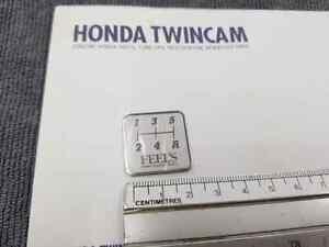 JDM Genuine Feel's Honda TwinCam Metal Shift Pattern Plate 5 Speed (5MT)