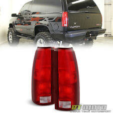 1988-1998 Chevy C10 Silverado Suburban Tahoe Yukon Blazer Tail Lights Left+Right