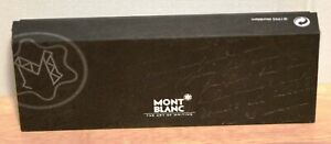 MONTBLANC MEISTERSTUCK EMPTY BLACK BALLPOINT PEN BOX DATED 1995