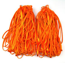 100 Pcs Orange wrist Strap Lanyard for Cell Phone Mp3 DC