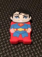 Minigz Superman Usb Stick 32gb Memory Card Keyring Super Hero Pc Computer Gift