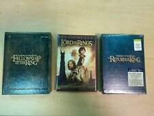 New ListingThe Lord of the Rings Trilogy Special Edition Extended Dvd Fellowship King Tower