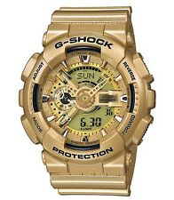 Casio G Shock * GA110GD-9A Anadigi Gold Series Gold Watch COD PayPal #crzyj