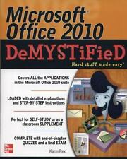 Microsoft Office 2010 DeMYSTiFieD (Paperback or Softback)