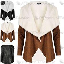 Unbranded Waterfall Faux Fur Coats & Jackets for Women