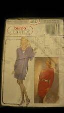 Burda Couture Sewing pattern 4643 skirt suit multi language  8 - 18