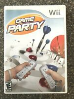 Game Party - Nintendo Wii Game - Complete & Tested Working - Free Shipping