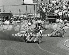 JOHN COOK  DAVE DeTEMPLE 8 X 10 IMS SPEEDWAY MOTORCYCLE