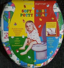 Padded Toilet Potty Seat Children Kids Infants Toddler Soft Trainer 2 years +