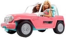Gioco Bambola Barbie con Jeep Rosa Mattel