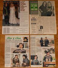 LUIS COBOS colección prensa 1980s/00s fotos clippings revista