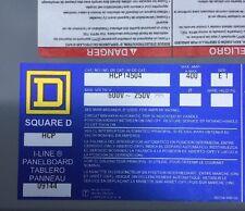 SQUARE D HCP14504 CIRCUIT BREAKER panelboard interior I line NEW 400 amp